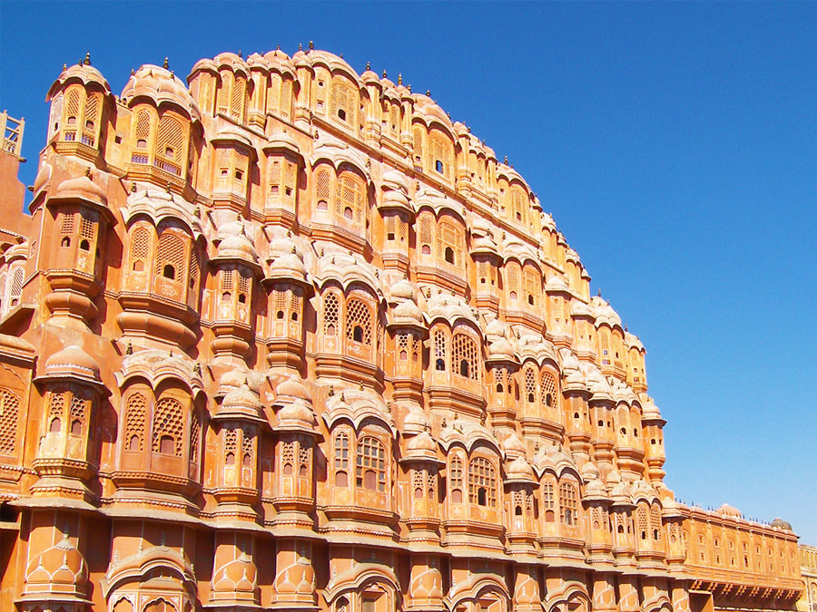 itinerary_jaipur_hawamahal Golden Triangle with Sariska and Gwalior