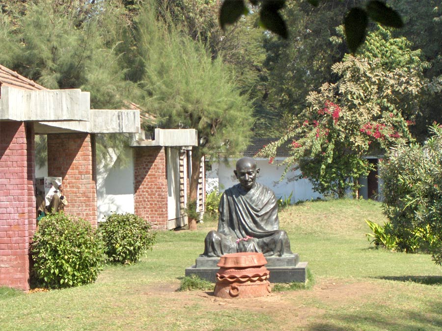 itinerary_ahmedabad_gandhiashram 9 Days Best of Gujarat with wildlife Tour Package