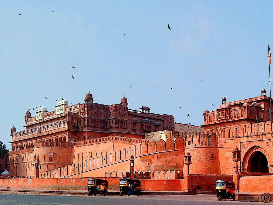 itinerary_bikaner_fort Rural Rajasthan Tour Package