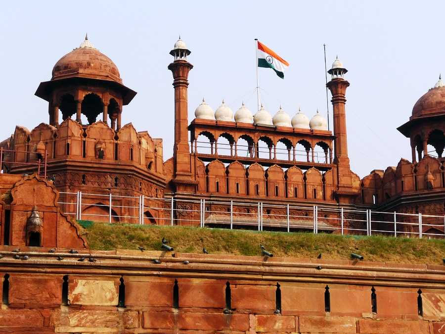 itinerary_delhi_redfort Golden Triangle tour with Ranthambore