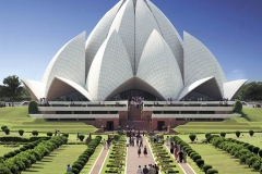 itinerary_delhi_lotustemple Golden Triangle with Sariska and Gwalior