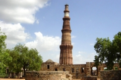 itinerary_delhi_qutubminar Golden Triangle tour with Ranthambore