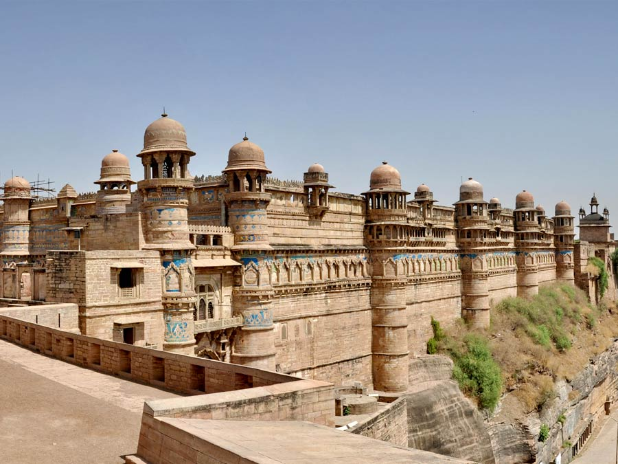 itinerary_gwalior_fort Golden Triangle with Sariska and Gwalior