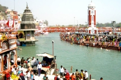 itinerary_haridwar_harkipauri Golden Triangle Tour with Haridwar and Rishikesh