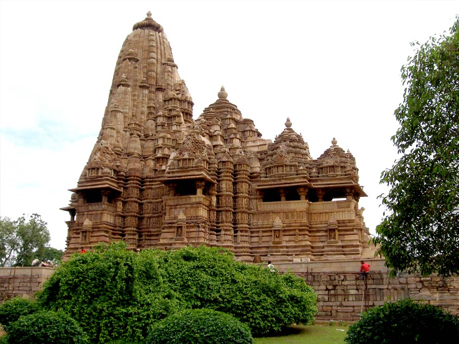 itinerary_khajuraho_kandariya Great India Wildlife Tour