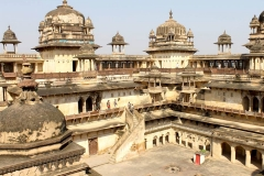 itinerary_orchha_fort Great India Wildlife Tour