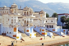 itinerary_pushkar_ghats Golden Triangle Tour with Pushkar