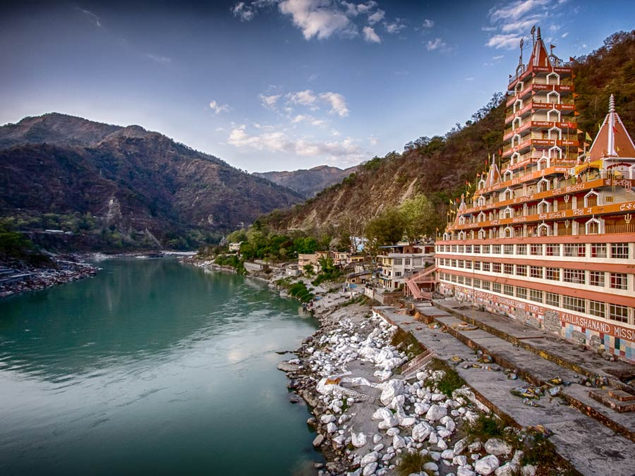 itinerary_rishikesh_mainview Best of North India Tour Package