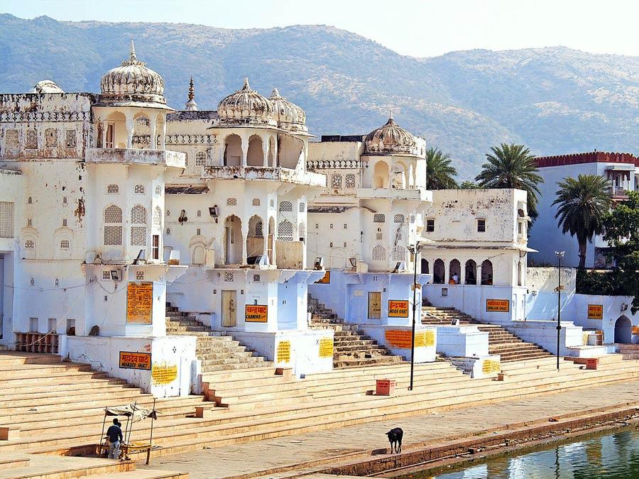 itinerary_pushkar_ghats Jaipur Pushkar Day Trip