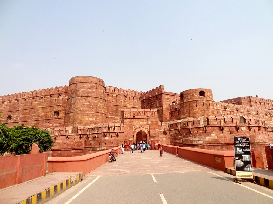 itinerary_agra_fort Same Day Agra Tour by Car