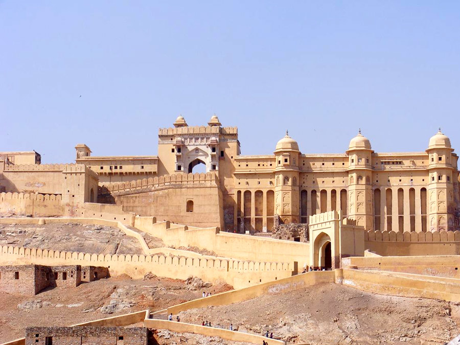 itinerary_jaipur_amber Full Day Jaipur Sightseeing Tour