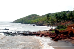 itinerary_goa_beaches_anjuna_beach Golden Triangle Tour with Goa