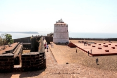 itinerary_goa_beaches_fort_aguda Golden Triangle Tour with Goa
