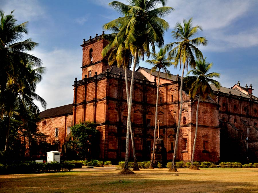 itinerary_goa_historical_basilica_jesus Golden Triangle Tour with Goa