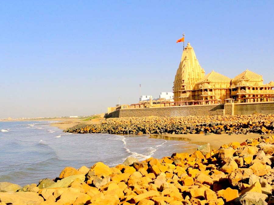 itinerary_somnath_beach 9 Days Best of Gujarat with wildlife Tour Package
